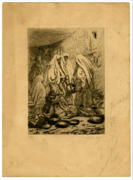 Estampe Louis Auguste Girardot